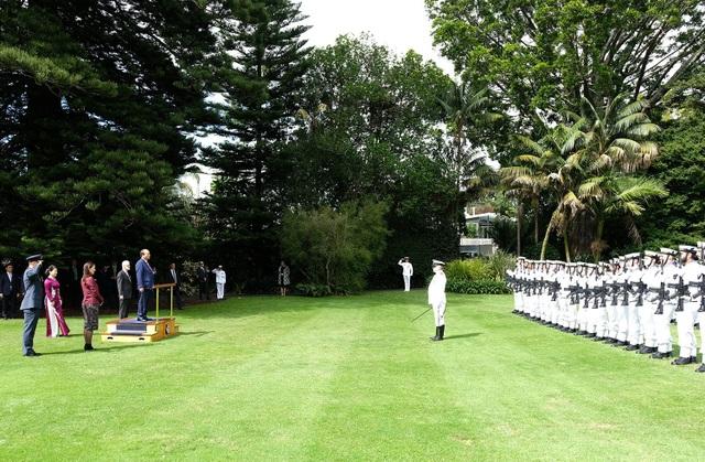 New Zealand chào đón Thủ tướng Nguyễn Xuân Phúc theo nghi thức thượng khách - 1