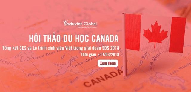 Du học Canada: Tổng kết CES và lộ trình du học trong giai đoạn SDS 2018 - 1