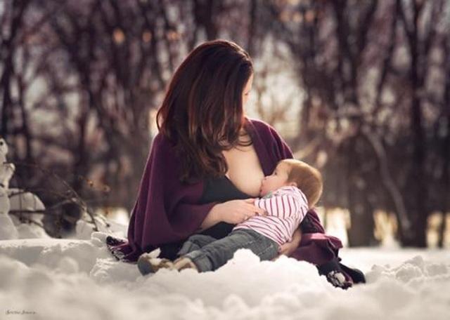 Cảm nhận rõ sự kết nối của tình mẫu tử và thiên chức cao quý của người mẹ.