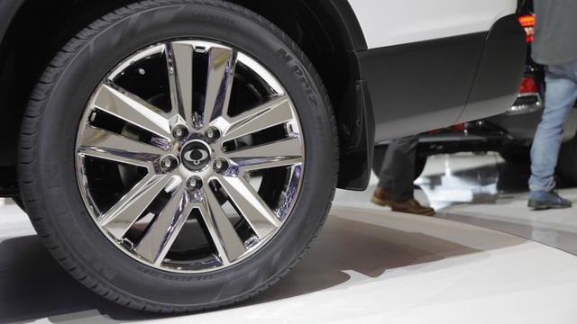 Hãng xe Hàn Quốc trang bị tùy chọn bánh xe có kích thước lên đến 20 inch trên phiên bản cao cấp nhất của Musso.