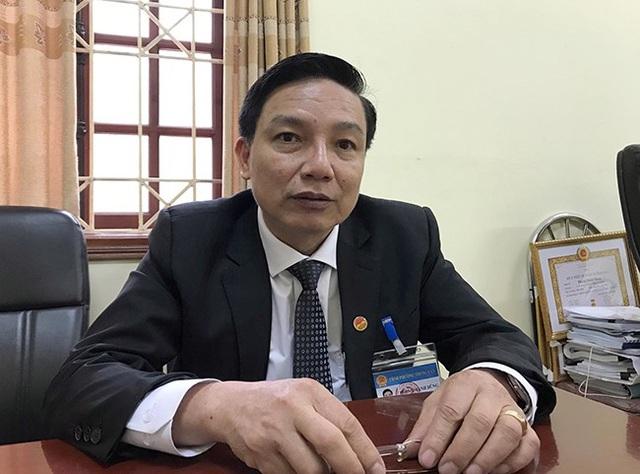 Ông Phùng Mạnh Dũng – Chủ tịch UBND phường Trung Văn