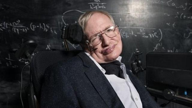 Nhà khoa học Stephen Hawking (Ảnh: BBC)