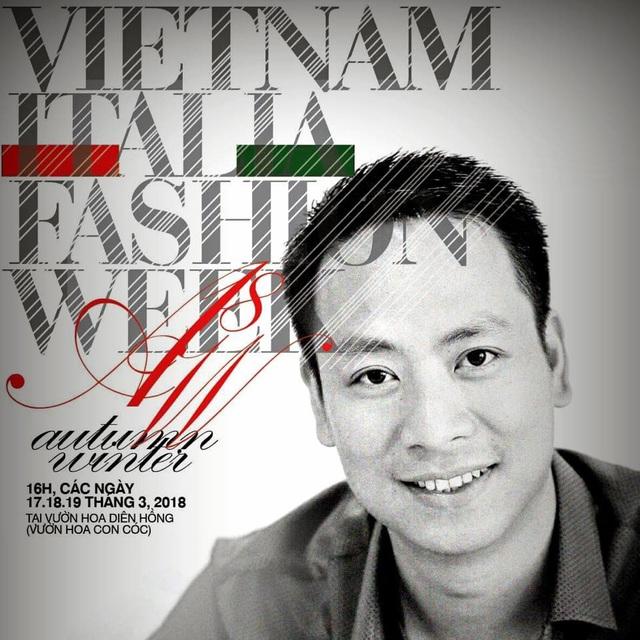 Tổng Đạo diễn Quang Tú cho biết, ánh sáng tự nhiên cuối chiều và những hiệu ứng nghệ thuật hứa hẹn sẽ đem đến chiều sâu lãng mạn cho không gian trình diễn của Tuần lễ thời trang Việt - Ý tại vườn hoa Diên Hồng.