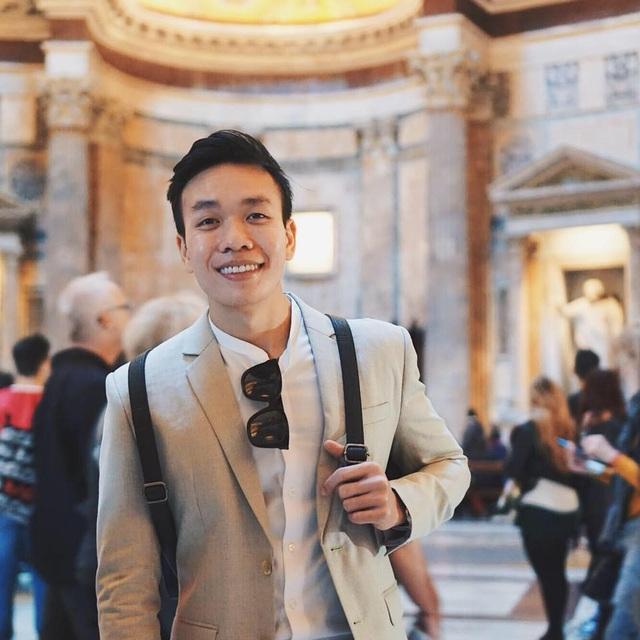 Nguyễn Hoàng Kim Quý, sinh viên Đại học Milano, Ý làm dấy lên tranh luận xoay quanh mối liên quan giữa chuyện nghỉ việc và sếp (Ảnh: NVCC)