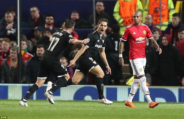 MU thể hiện sự thất vọng cùng cực ở trận đấu với Sevilla