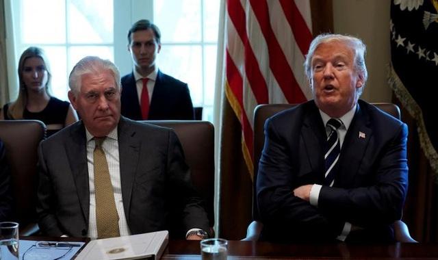 Ngoại trưởng Mỹ Rex Tillerson (13/3/2018)