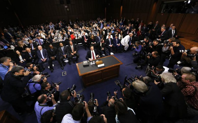 Giám đốc FBI James Comey (9/5/2017)