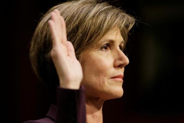 Quyền Bộ trưởng Tư pháp Sally Yates (30/1/2017)