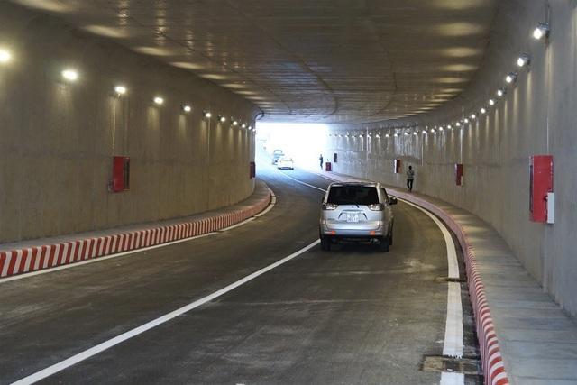 Khi hoàn thành nhánh hầm thứ 2, lượng lớn phương tiện sẽ lưu thông qua hầm, góp phần đáng kể giảm ùn tắc giao thông ở cửa ngõ Tây Bắc TP