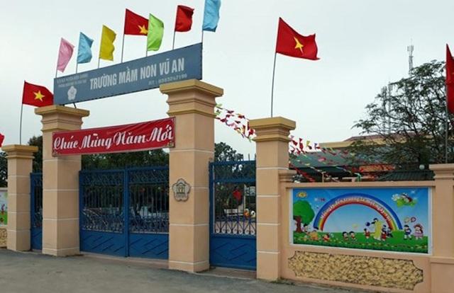Trường mầm non xã Vũ An, huyện Kiến Cương, tỉnh Thái Bình