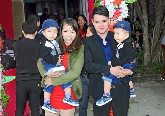 Hình ảnh gia đình Hương trong 1 lần đi đám cưới.