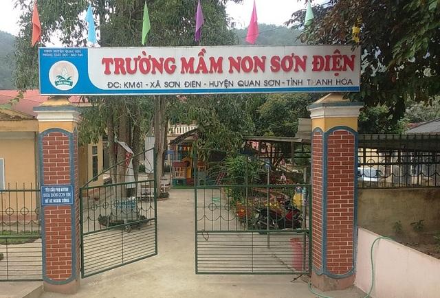 Trường Mầm non Sơn Điện, nơi cô D công tác