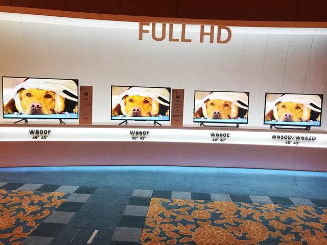 Không thể phủ nhận rằng các dòng TV Full HD vẫn chiếm một vị trí quan trọng, đặc biệt là ở thị trường Đông Nam Á.