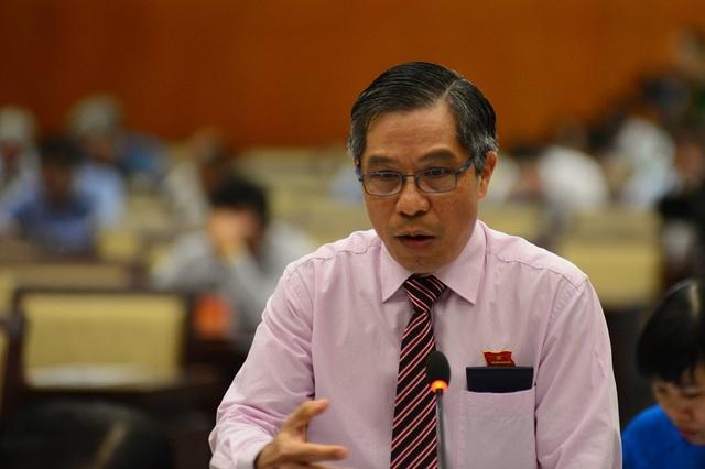 Đại biểu Lê Nguyễn Minh Quang băn khoăn về công tác đánh giá cán bộ