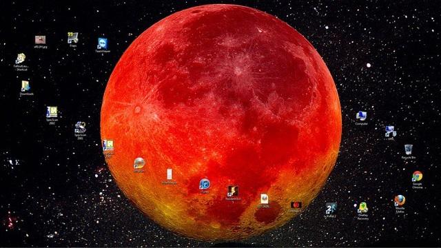 Các biểu tượng được sắp xếp thành một vành đai của hành tinh
