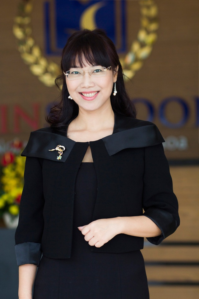 Bà Lê Mai Lan - Phó Chủ tịch Tập đoàn Vingroup.