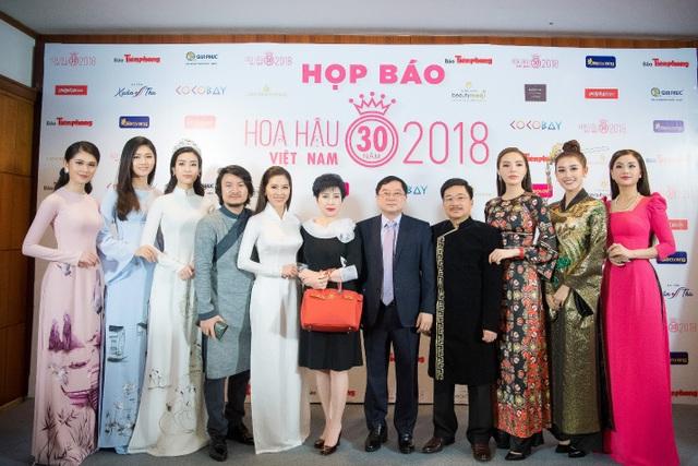 Hoa hậu Việt Nam 2018 mới khởi động đã tạo sức hút lớn với các doanh nghiệp - Ảnh 1.