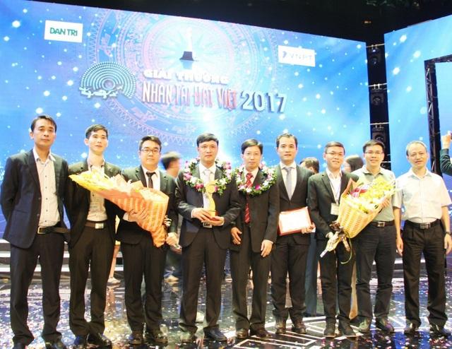 Giảng viên của Trường ĐHCN nhận giải thưởng Nhân tài Đất Việt 2017