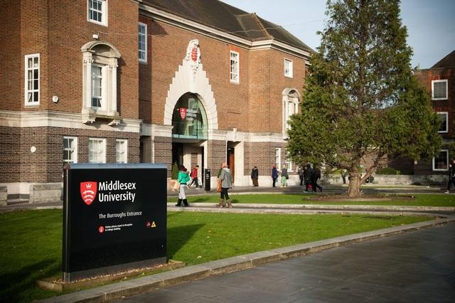 Khuôn viên cực đẹp và hiện đại của trường Middlesex