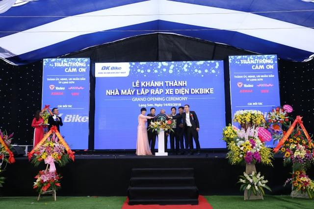 Lễ Khánh thành Nhà máy lắp ráp xe điện DKBike công suất 450,000 xe/năm.