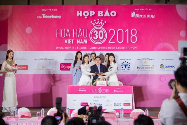 Hoa hậu Việt Nam 2018 mới khởi động đã tạo sức hút lớn với các doanh nghiệp - Ảnh 4.