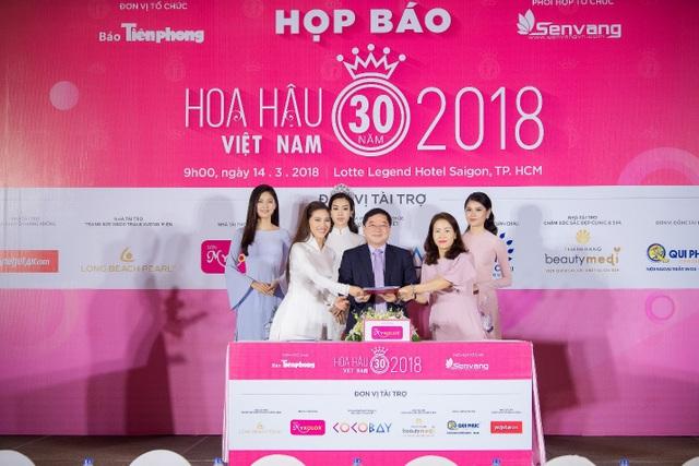 Hoa hậu Việt Nam 2018 mới khởi động đã tạo sức hút lớn với các doanh nghiệp - Ảnh 5.