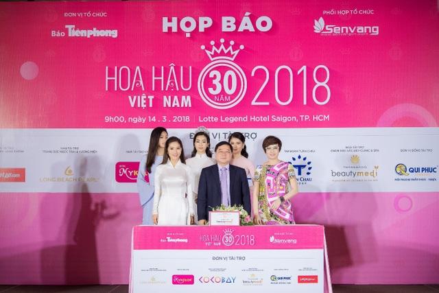 Hoa hậu Việt Nam 2018 mới khởi động đã tạo sức hút lớn với các doanh nghiệp - Ảnh 6.