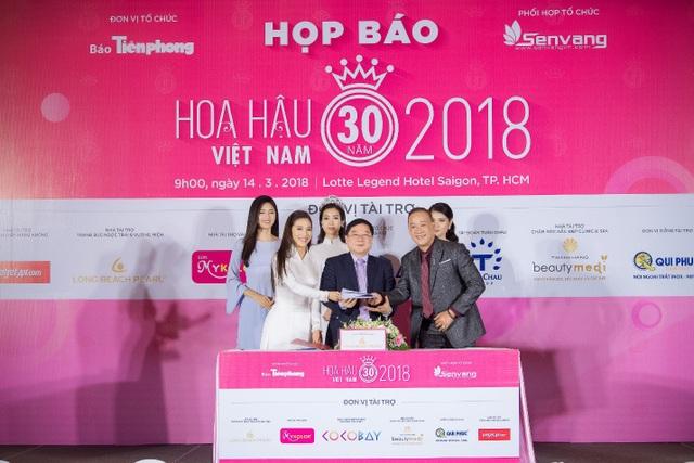 Hoa hậu Việt Nam 2018 mới khởi động đã tạo sức hút lớn với các doanh nghiệp - Ảnh 7.