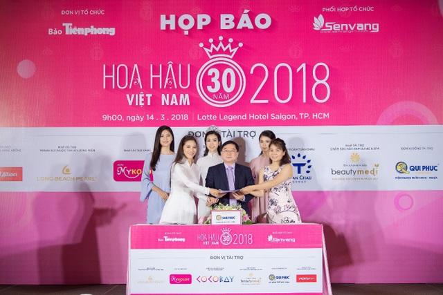 Hoa hậu Việt Nam 2018 mới khởi động đã tạo sức hút lớn với các doanh nghiệp - Ảnh 8.