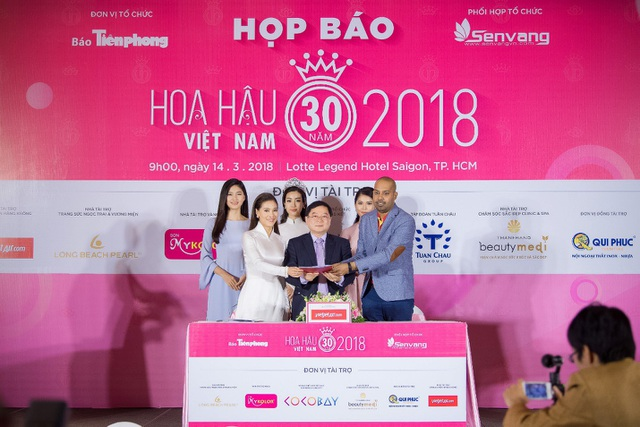 Hoa hậu Việt Nam 2018 mới khởi động đã tạo sức hút lớn với các doanh nghiệp - Ảnh 9.