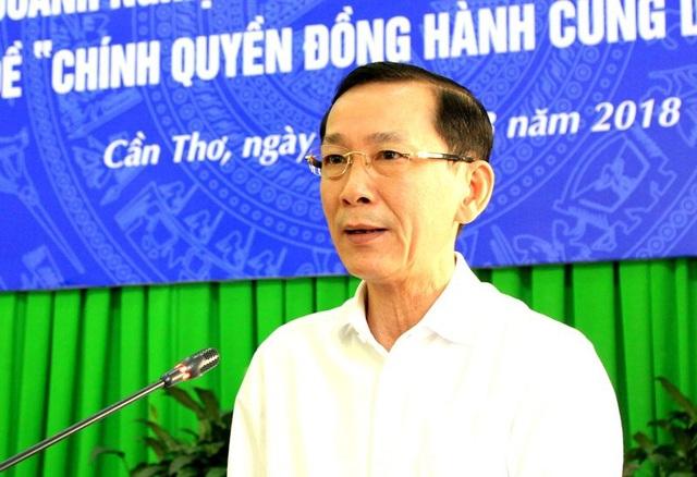 Chủ tịch UBND TP Cần Thơ - Võ Thành Thống phát biểu tại hội nghị