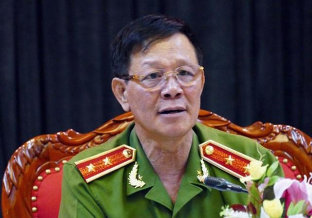 Trung tướng Phan Văn Vĩnh, nguyên Tổng Cục Trưởng Tổng Cục cảnh sát.