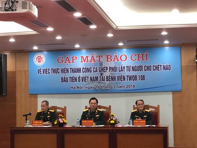 Lần đầu tiên Việt Nam thành công ca ghép phổi từ người cho chết não - 1