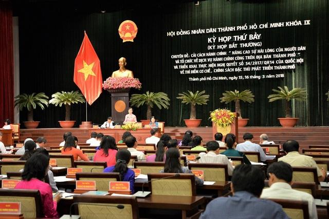 Bế mạc kỳ họp bất thường của HĐND TPHCM khóa IX