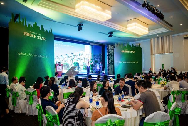 Dự án căn hộ Hưng Phát Green Star trước đó của Hưng Lộc Phát thu hút hàng trăm khách hàng tham dự