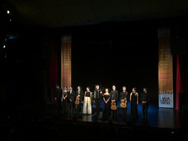 Các nghệ sĩ trẻ và tài năng tới từ Italia và nhiều quốc gia khác - những người đã được trao tặng các giải thưởng danh giá từ cuộc thi âm nhạc nổi tiếng IBLA.