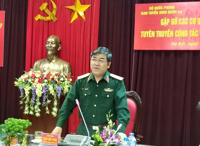 Trung tướng Trần Hữu Phúc – Cục trưởng Cục Nhà trường.