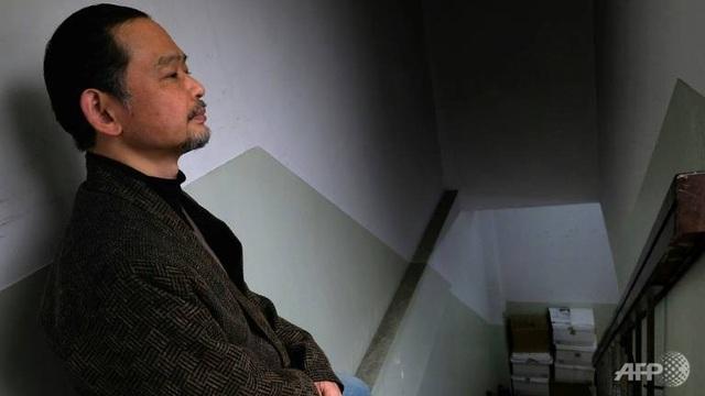 Ông Ikeida, người mắc chứng bệnh cách ly xã hội (Ảnh: AFP)