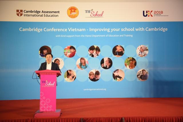 Ông Chử Xuân Dũng - Giám đốc Sở GDĐT TP Hà Nội tại Hội nghị.