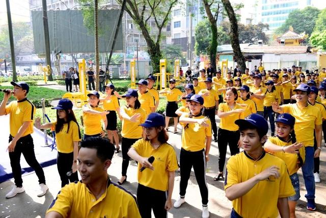 Resolution Run mang tinh thần của sức trẻ, không bỏ cuộc và nỗ lực lao nhanh về đích
