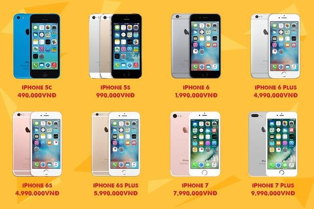 Cơ hội mua iPhone có 1 không 2 tại Việt Nam. - 4