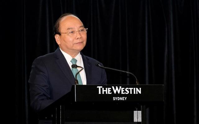 Thủ tướng Nguyễn Xuân Phúc tại Diễn đàn Doanh nghiệp Việt Nam - Australia