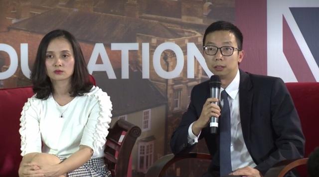 Anh Lê Tuấn Bình (cựu sinh viên chương trình học bổng Chevening – học bổng danh giá của Bộ Ngoại giao Anh tại đại học Glasgow)