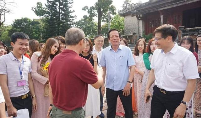 HLV Park Hang Seo thích thú tham quan Đại Nội Huế - 6