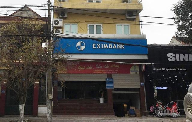 Chi nhánh Eximbank tại tỉnh Nghệ An - Ảnh: Quốc Huy