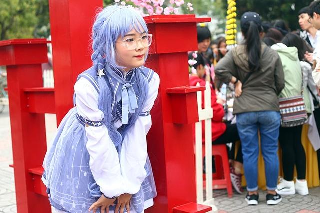 Hot girl Ngọc Nữ diện áo dài xinh đẹp trong lễ hội văn hóa Nhật Bản - 11