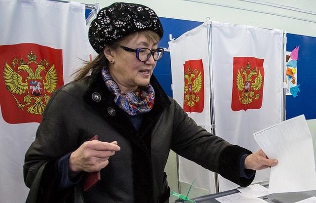 Nga đã mở cửa tổng cộng 97.000 điểm bỏ phiếu cho đợt bầu cử tổng thống này, trong đó 400 điểm bỏ phiếu mở tại nước ngoài để phục vụ kiều bào, Ủy ban bầu cử trung ương Nga cho biết. (Ảnh: TASS)
