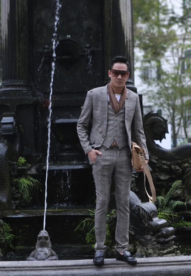 Sự trở lại của nam người mẫu Vũ Duy Hưng - Người đàn ông lịch lãm Mister Vietnam 2010.