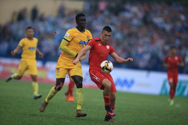 FLC Thanh Hóa giành chiến thắng quan trọng trước TPHCM - Ảnh: Gia Hưng