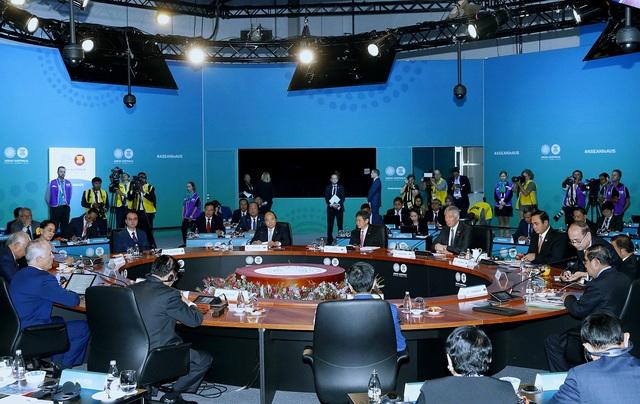 Thủ tướng Nguyễn Xuân Phúc và các nhà lãnh đạo ASEAN, Australia tại Hội nghị Cấp cao Đặc biệt ASEAN -Australia tại Sydney.